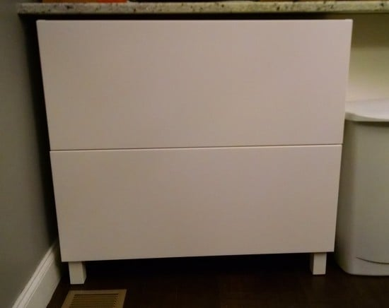 Sektion storage console - front