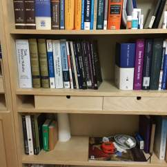 Ikea Kitchen Table With Drawers Countertop Refinishing Give Billy Bookshelf Easy Moppe - ...