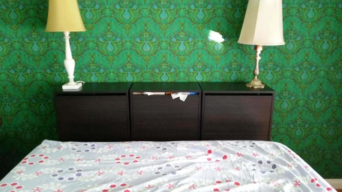 Bissa Storage Bed Head Ikea Hackers