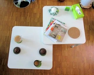 Tingby coffee table - open