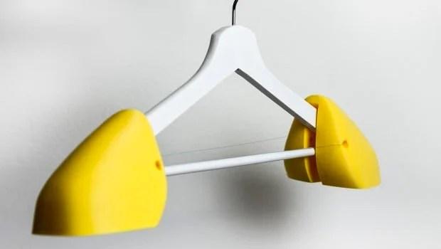 kitchen wire shelving matt 3d printed shoulder pads for the ikea bumerang hanger ...
