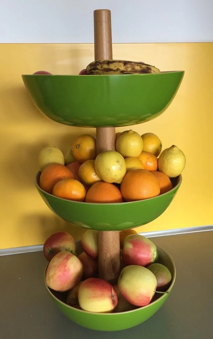 New Quick and easy tiered bamboo bowl for your kitchen or table