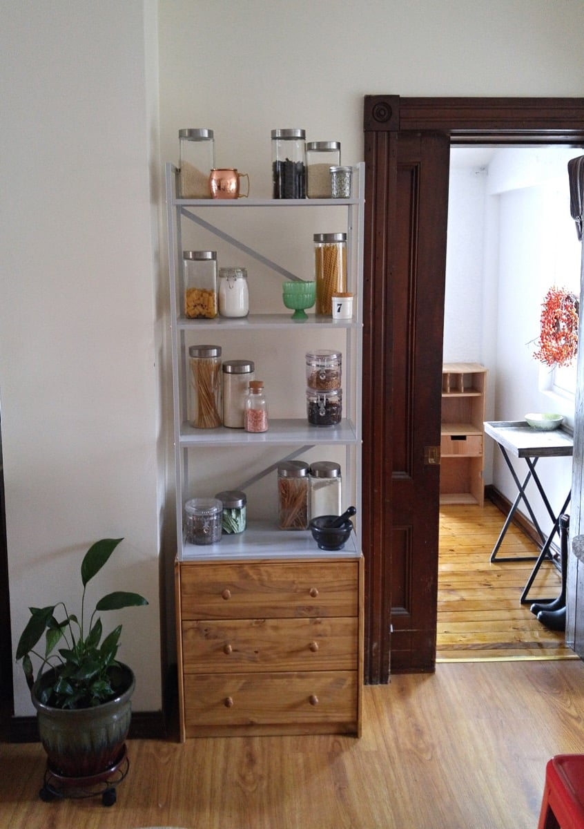 Top 10 IKEA hacks of 2017 - tall kitchen storage