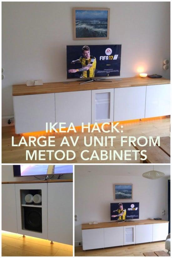 IKEA METOD AV unit