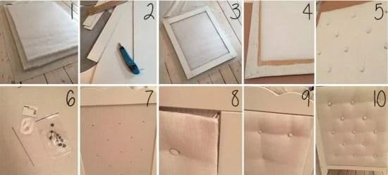 DIY headboard for IKEA HENSVIK crib - Instructions