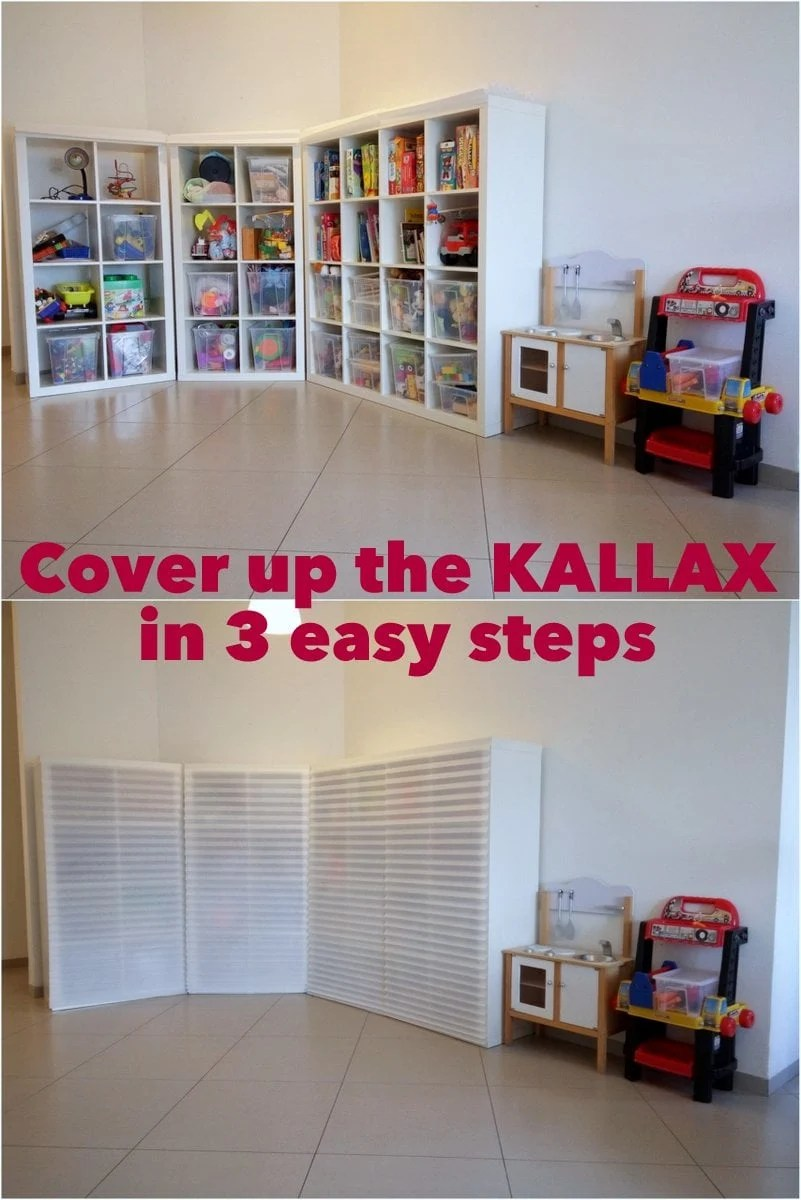 Cover Up The KALLAX In 3 Easy Steps IKEA Hackers IKEA