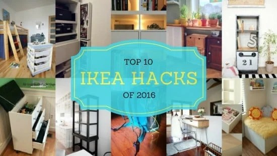 Top 10 IKEA Hacks of 2016