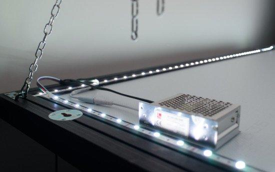 LED lighting for the mirror