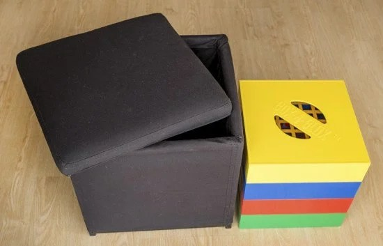 Ottoman for the Box4Blox sorter