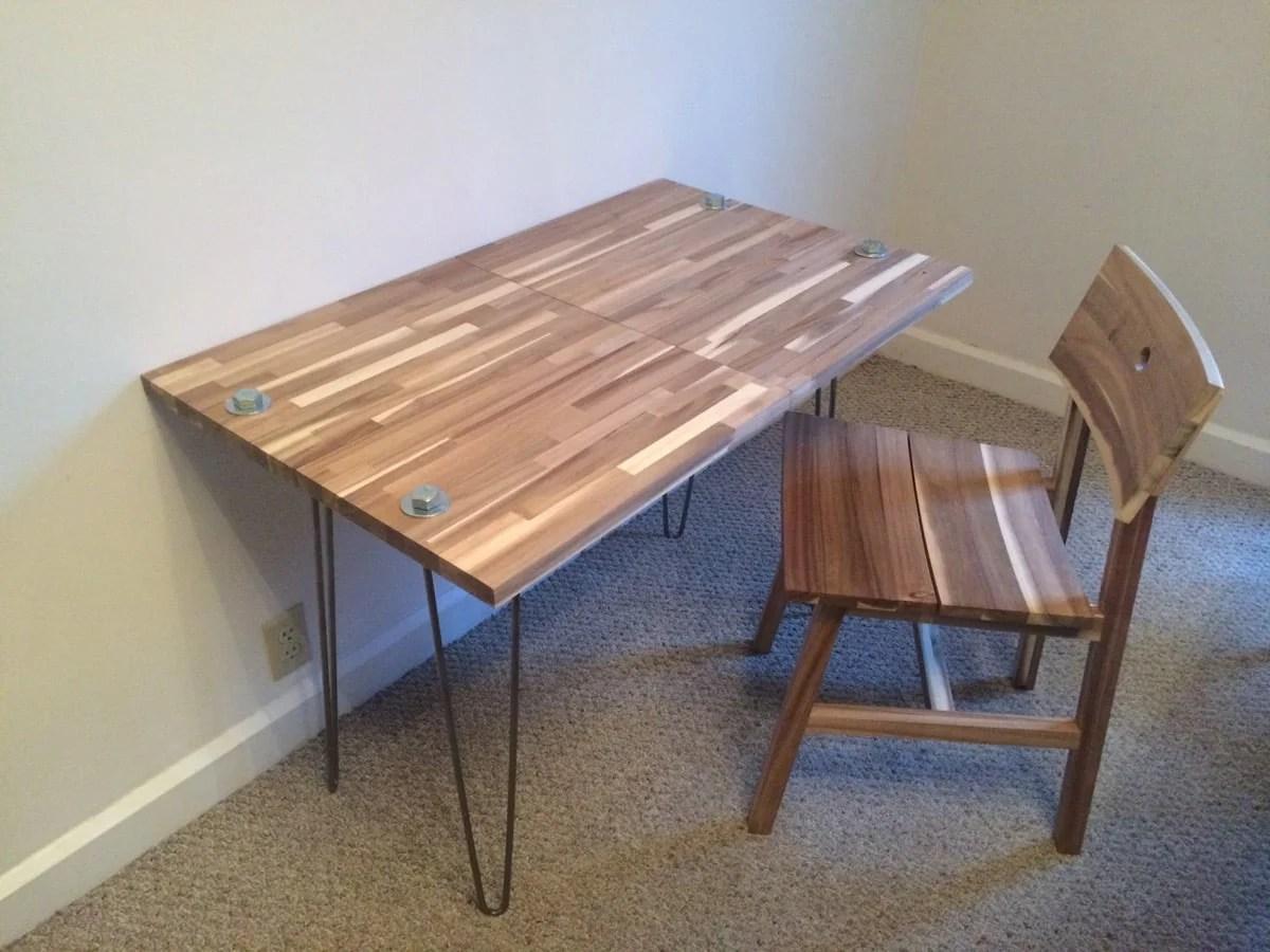 Skogsta Quot Chopping Quot Desk Ikea Hackers