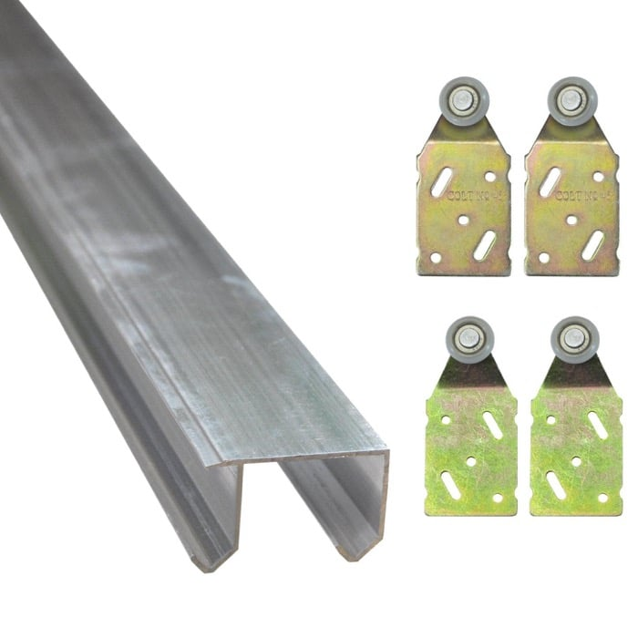 Pax sliding door rails alternative