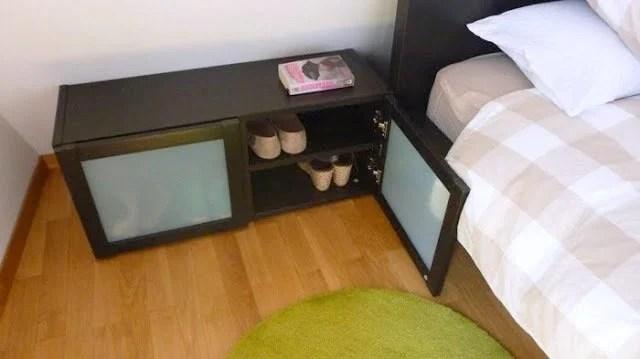bedside-shoe-rack