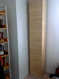 A classy tall shoe cabinet to fit small entryways - IKEA ...