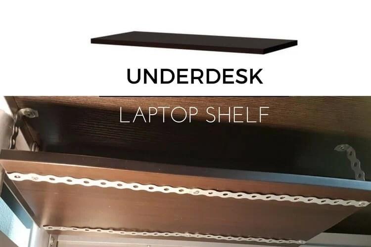 15 Underdesk laptop shelf mount  IKEA Hackers  IKEA Hackers