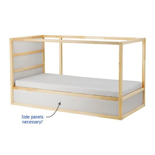 KURA bed storage