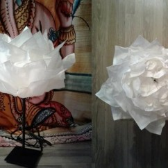Living Room And Kitchen Divider Design The With Sky Bar 18f Krusning Cloud To A Whimsy Paper Flower Decor - Ikea ...