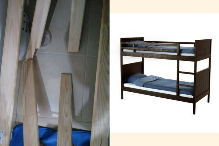 Trend Hackers Help LUR Y slats for NORDDAL bed