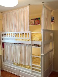 bunk bed curtain bunk bed curtain diy bunk bed curtains ...