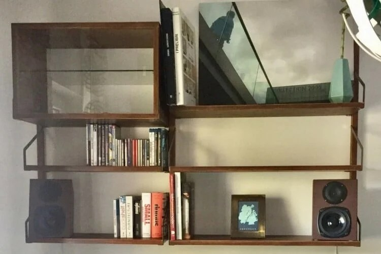 SVALNS wall mounted shelves ala the Royal System  IKEA