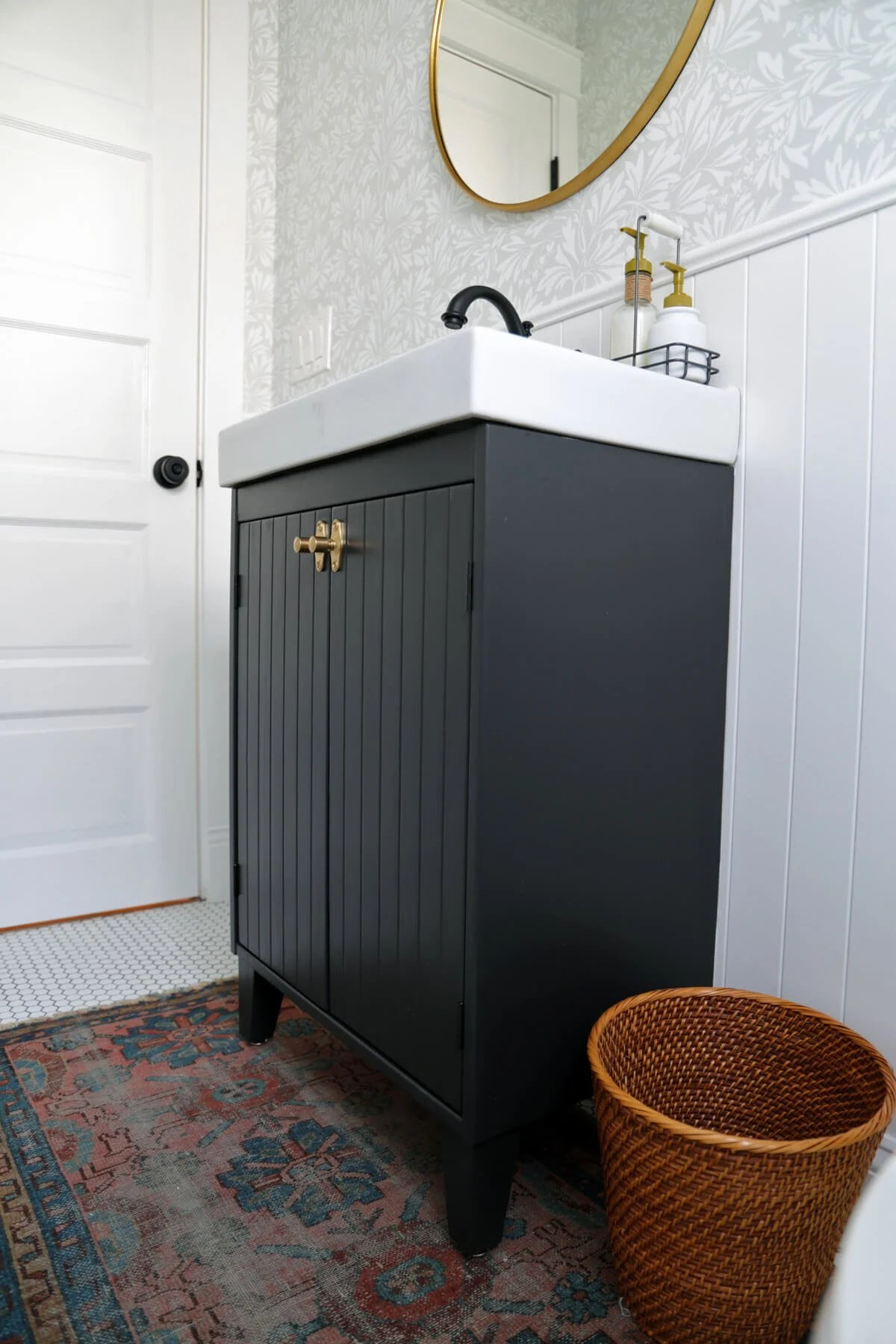 Customizing an IKEA Vanity for a Bungalow Bathroom