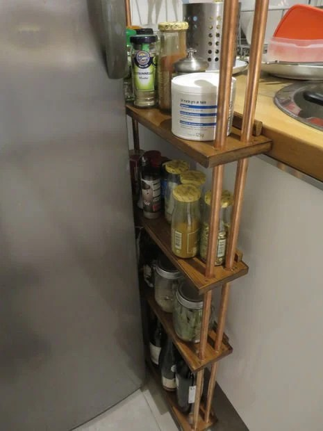 rolling kitchen carts storage cart narrow cart: perfect for in-between gaps ...