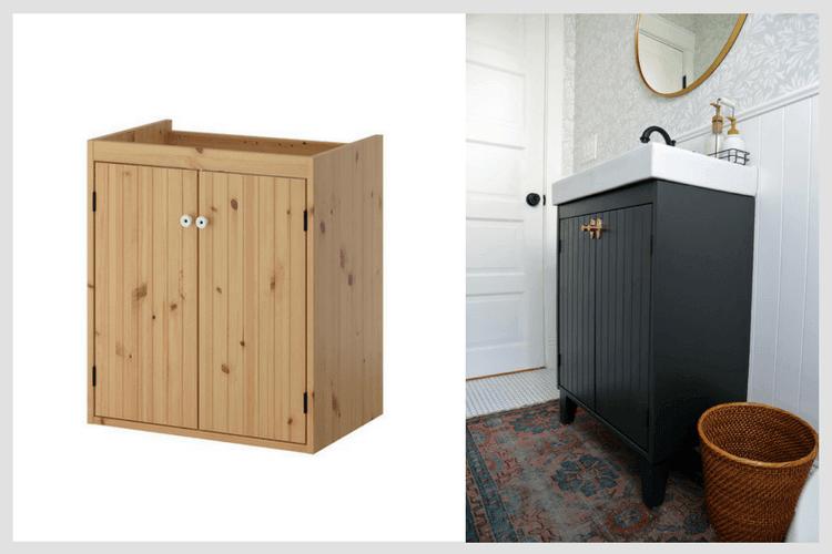 Customizing An Ikea Vanity For A Bungalow Bathroom Ikea