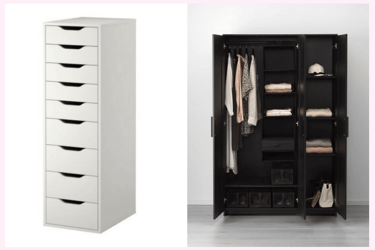 Upgrading Brimnes Wardrobe With Drawer Units Ikea Hackers