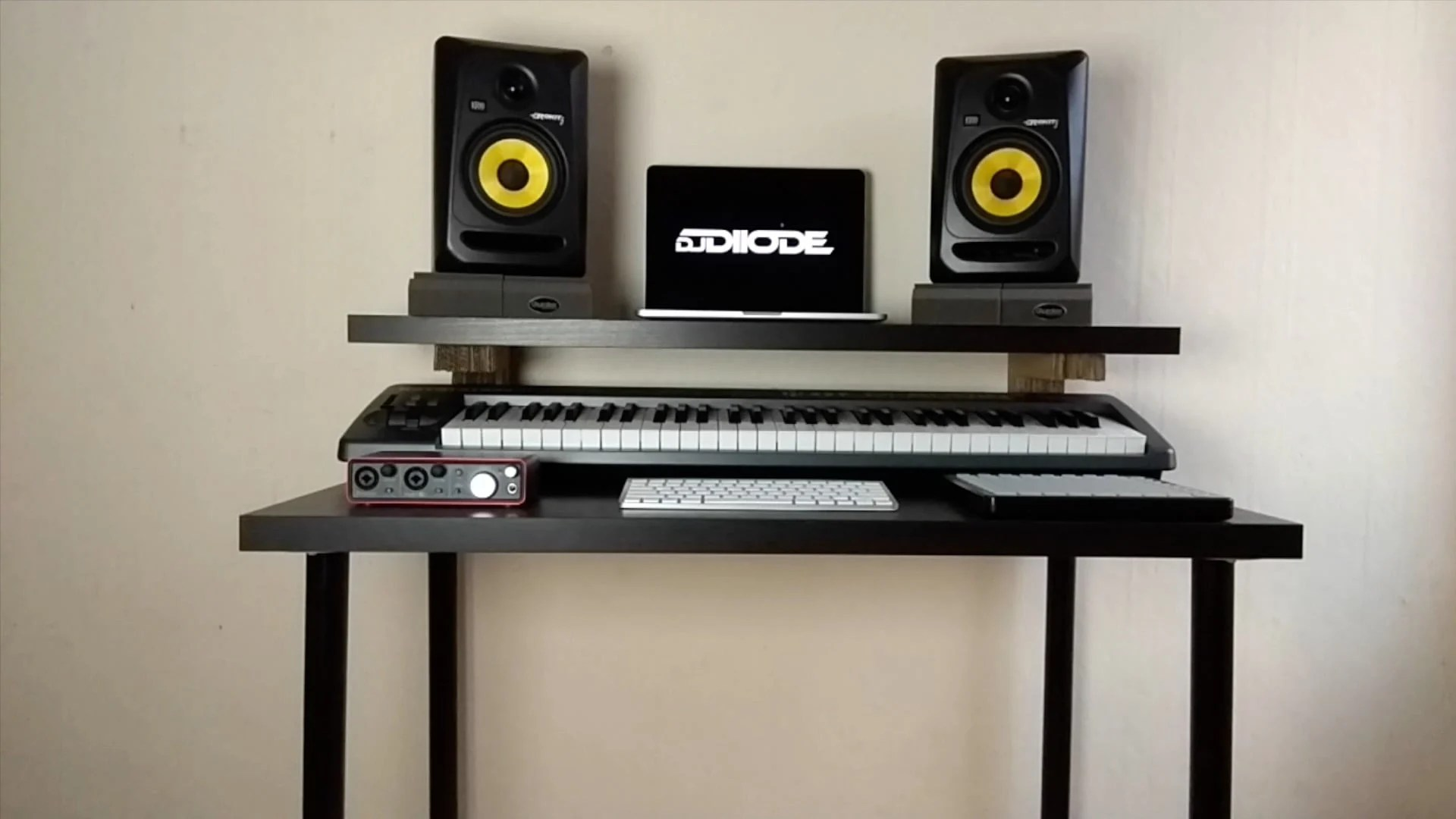 Make a Music Production Desk with only 40 pounds  IKEA
