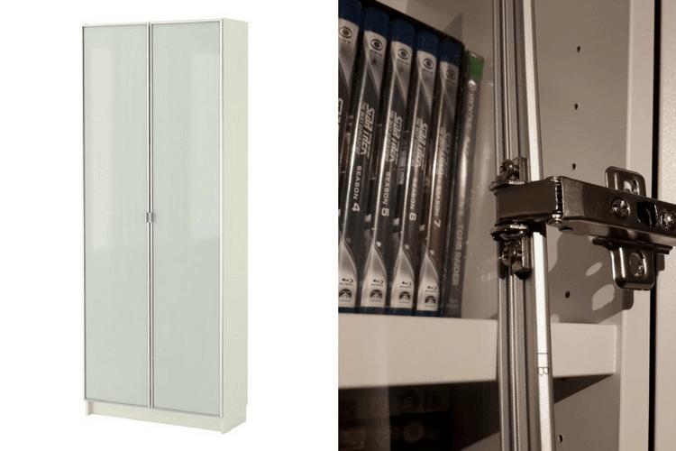 Hackers Help Old Billy Glass Doors On New Billy Ikea