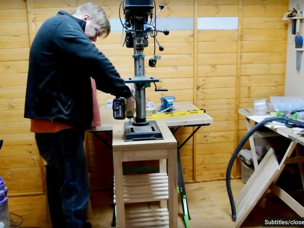 Workshop Tool Bench from BEKVAM Kitchen Trolley