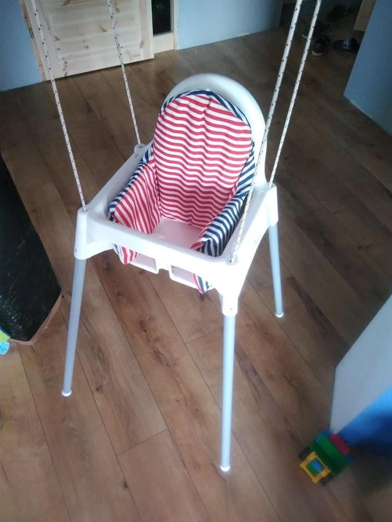 hammock chair swings jerry johnson toddler swing hacked from an ikea high -- hackers