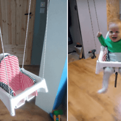 Antilop High Chair Small Metal Garden Table And Chairs Toddler Swing Hacked From An Ikea -- Hackers