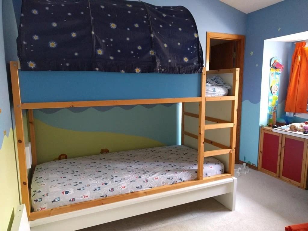Ikea Hack Loft Bed With Storage Novocom Top