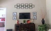 Faux fretwork panel as large scale wall dcor - IKEA Hackers