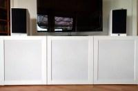 How to hack speaker fabric doors for BEST TV unit - IKEA ...