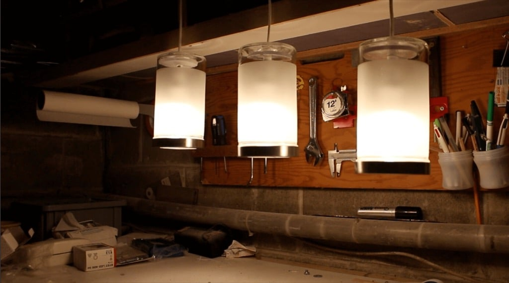 Frosted Glass Pendant Light that Costs only $7