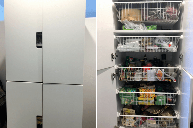 Ikea Kitchen Pull Out Pantry