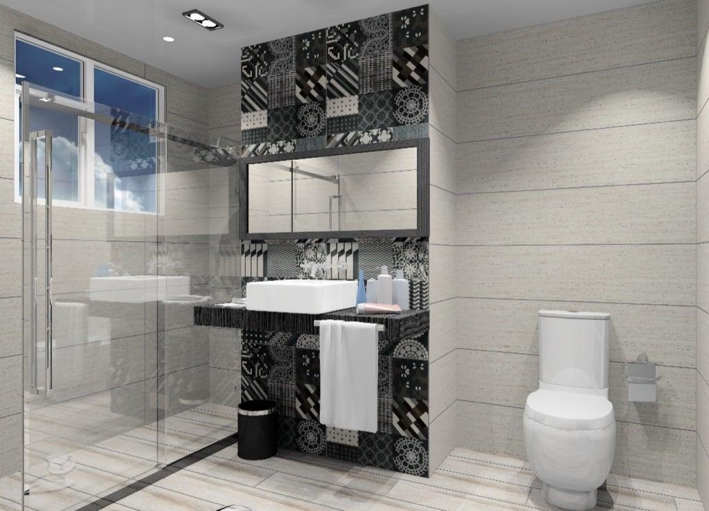 Feruni bathroom tiles (azulej)