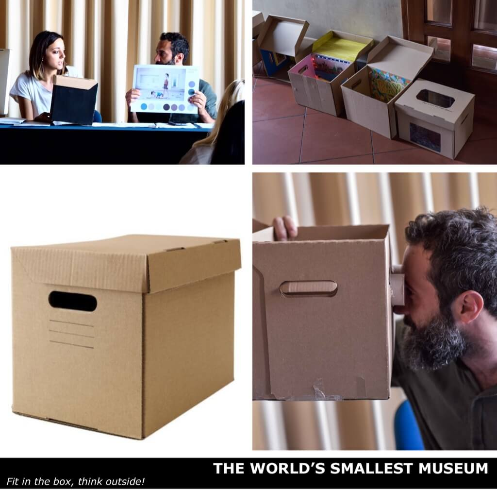 The Smallest Museum in the World. Stay in the (Pappis) box, think outside!