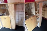 Slim pantry cabinet from CD racks - IKEA Hackers
