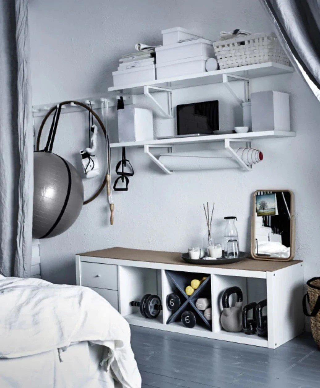 6 essential things from IKEA for your Home Gym - IKEA Hackers