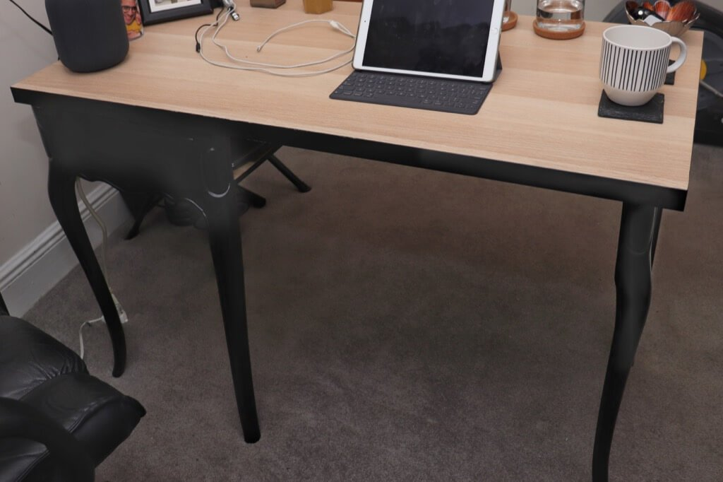 Two-Way Modern Antique Writing Desk