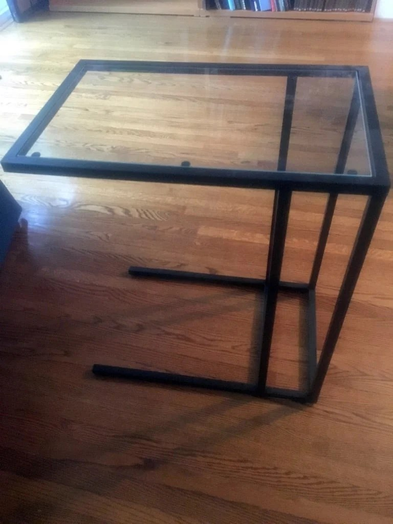 Industrial style Laptop stand