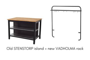 stenstorp island vadholma rack