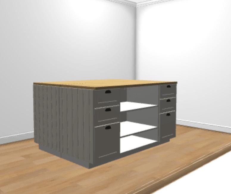 Ikea Kitchen Help: Hackers Help: How To Make This Kitchen Island?