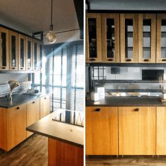 Kitchen Divider Island Lights Amazing Open With Cabinets As Space Ikea Hackers