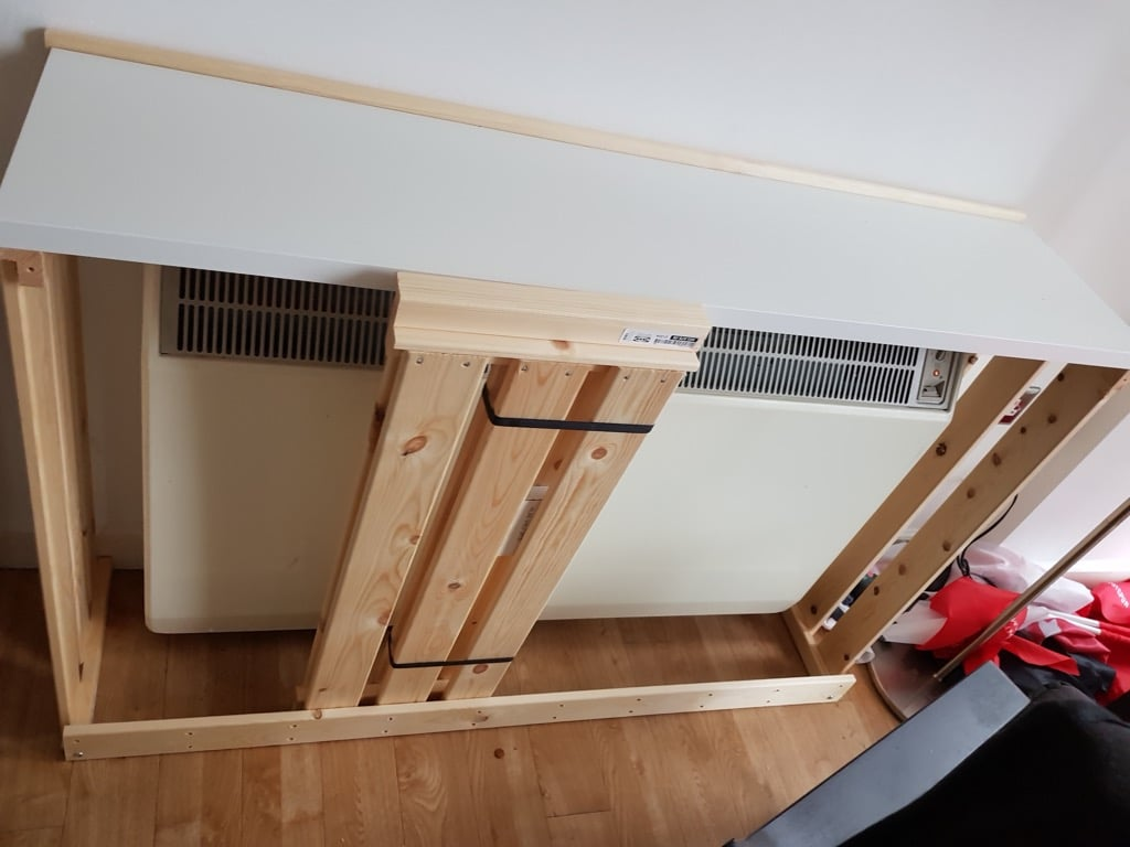 Simple radiator shelf for less than £30
