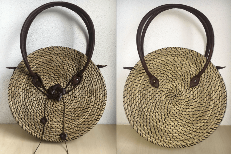 Forget buying, you can absolutely make this stylish raffia bag