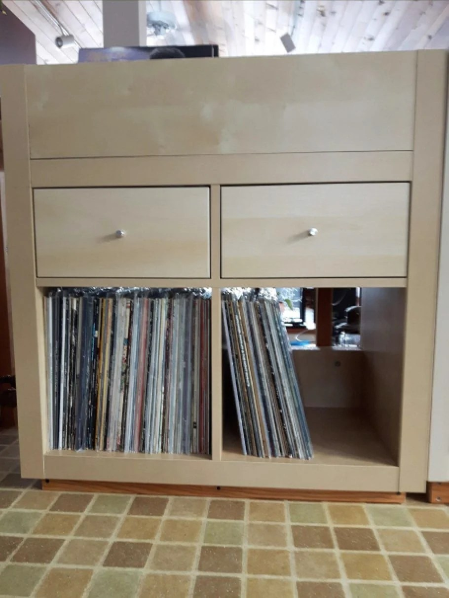 How to hack a storelike vinyl record storage cabinet