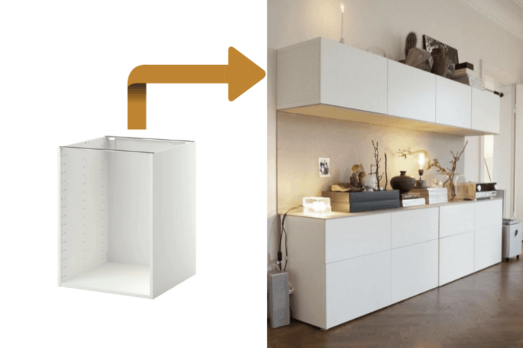Hackers Help: Can I wall mount IKEA kitchen base cabinets?